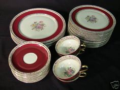Rosenthal China Selb Germany | ANTIQUE ROSENTHAL SELB GERMANY CONTINENTAL IVORY CHINA Completed