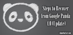 Steps to Recover from Google Panda 4.0 Update