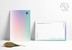 Holo Business Card Template on Behance