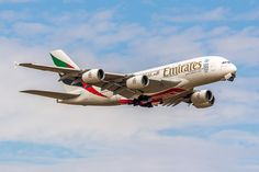 https://flic.kr/p/wqWsZv | Airbus A380-861 Emirates Airlines A6-EOA (CDG)