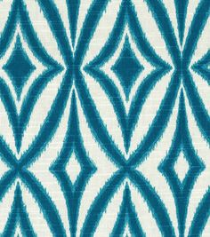 Home Dec Print Fabric-Waverly Centro Azure