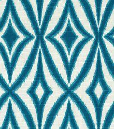 Home Dec Print Fabric-Waverly Centro Azure