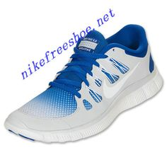 64096200b2702 Breathe Nike Free 5.0 Mens Hyper Blue Pure Platinum White 579960 410 Nike  Heels