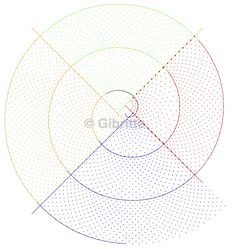Voici l'état de ma spirale en début d'année: J'ai facilement mis en place de la paire de bordure, supprimé les couleurs, fermé la spirale: Mais le coeur me pose problème: On y démarre, c'est à dire que l'on pose les premières paires de fuseaux et qu'ensuite...