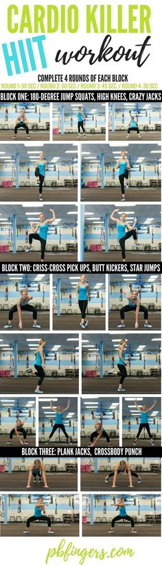 HIIT Cardio Workout – Fitness is life, fitness is BAE! ♥ Tap the pin now to di… HIIT Cardio Workout Fitness Workouts, Hiit Workout At Home, At Home Workouts, Fitness Tips, Fitness Motivation, Health Fitness, Cardio Hiit, Shape Fitness, Exercise Cardio