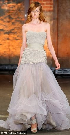 Natural talent: The 26-year-old designer has repeatedly demonstrated a talent…