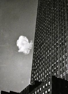 Andre Kertesz Lost Cloud New York 1937 1935