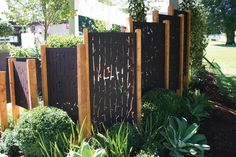 ORCHARD 90% used as a sculptural feature and front fence