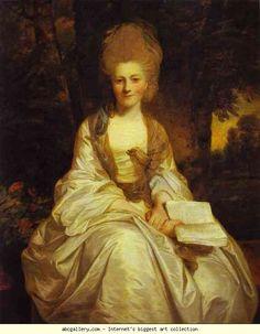 Sir Joshua Reynolds. Dorothy, Countess  of Lisburne.