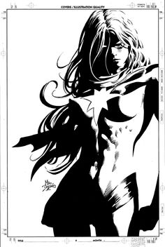 Ms. Marvel by Mike Deodato Jr. Comic Art