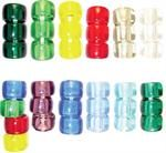 Crow Beads - Transparent Colors -   1000 Pieces  Items on Sale  www.bergerbeads.net  $2.00 and up