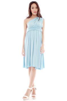 TORY DRESS - BABY BLUE