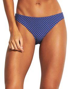 SEAFOLLY-clothing-PRINTED HIPSTER BIKINI BOTTOM. #seafolly #clothing Bikini Bottoms, Thong Bikini, Swimsuits, Bikinis, Swimwear, Seafolly, Modest Dresses, Casual Dresses, Luxury Fashion