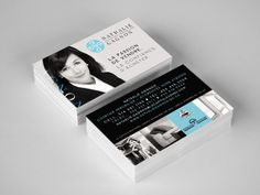 Cartes d'affaires - Nathalie Gagnon, courtier immobilier. Inclus la conception d'une image de marque.