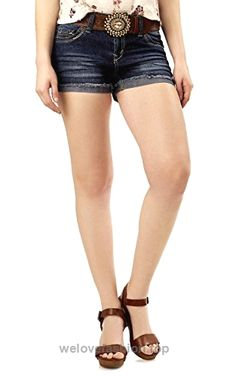 WallFlower Jeans is an All-American juniors lifestyle brand that offers a range of washes and fabrics, an assortment of fits, embellishments and cute hidden details at a great value. American Juniors, Wallflower Jeans, Buckle Jeans, Fashion Brands, Bermuda Shorts, Denim Shorts, Curvy, Topshop, Women Shorts