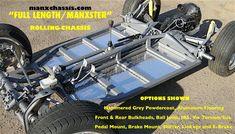 custom type 1 vw chasis shortened for Manx. Volkswagen 181, Volkswagen Karmann Ghia, Vw Dune Buggy, Dune Buggies, Vw Rat Rod, Tube Chassis, Vw Classic, Chevy S10, Sand Rail