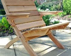 Outdoor Cedar Nesting Lounge Chair by JGArtisanWoodworks on Etsy