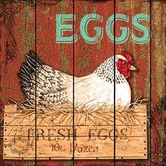 I uploaded new artwork to fineartamerica.com! - 'Fresh Eggs' - http://fineartamerica.com/featured/fresh-eggs-jean-plout.html via @fineartamerica
