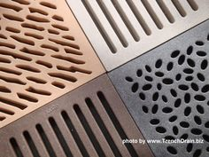 Patio and Driveway Drainage Solutions Part II – New Catch Basin Drain Grate Op. Patio and Driveway Drainage Grates, Yard Drainage, Catch Basin Drain, Drainage Solutions, Drainage Ideas, Trench Drain Systems, Landscape Drainage, Stone Deck, French Drain