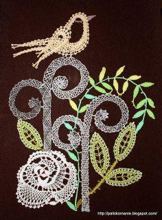 Paličkománie: Elizabeth's garden *eye candy - no pattern* Crafts For Kids, Arts And Crafts, Bobbin Lace Patterns, Point Lace, Cut Work, Lace Making, Textile Art, Crochet, My Design