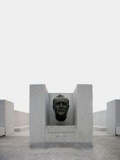 Four Freedoms Park Four Freedoms, Louis Kahn, Unusual Buildings, Memorial Park, Architects, Parks, Photographs, Sculpture, Space