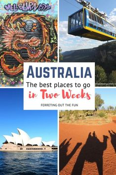 Two Weeks in Australia: The Perfect Itinerary - Ferreting Out the Fun Best Travel Websites, Travel Advice, Travel Guide, Amazing Destinations, Travel Destinations, Places To Travel, Places To Go, Amazing Adventures, Ultimate Travel