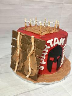 Spartan race cake