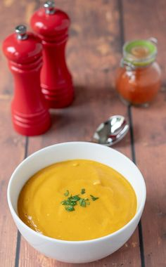 Sweet potato and red lentil soup is a delicious and easy recipe. This healthy vegan and gluten free soup is a perfect filler that never fails to please. Red Lentil Recipes, Healthy Soup Recipes, Clean Recipes, Appetizer Recipes, Vegetarian Recipes, Healthy Meals, Savoury Recipes, Easy Recipes, Health Benefits Of Beans