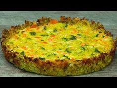 Brokolickový koláč - neobsahuje žádnou mouku a přitom je tak výborný (gl. Sin Gluten, Gluten Free, Yummy Vegetable Recipes, Bulgarian Recipes, Appetisers, Family Meals, Good Food, Food And Drink, Foodies