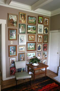 What to collect: Paint By Number paintings (why not?!? although I'd stick to one sort, for example, my fave Dachshunds).