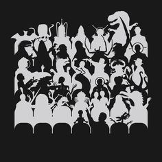 This Mystery Science Theater 3000 t-shirt features the TV show characters watching B-movie monsters on the screen. The shirt is ideal for fans of the TV show. Satellite Of Love, Mystery Theater, Mystery Science, Tshirt Colors, Cool T Shirts, Nerdy, The Help, Pop Culture, Geek Stuff