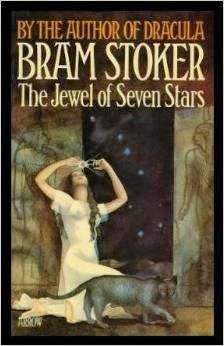 """The Jewel of Seven Stars,"" by Bram Stoker, features an ancient Egyptian cat mummy. Reviewed at The Cuddlywumps Chronicles: http://cuddlywumps.blogspot.com/2014/07/bram-stokers-tale-of-cat-mummy.html"