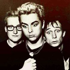 Green Day- how about those very few random times Tre looks normal
