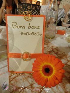 Décoration de mariage. Orange, blanc et or, thème franco-berber on ...