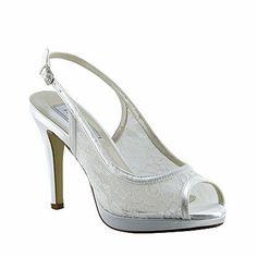Touch Ups Women's Lydia White Pump · Dyeable ShoesBridal ...