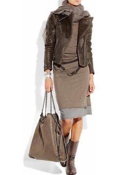 Cute Stylish Outfit by Donna Karan Fashion Mode, Look Fashion, Winter Fashion, Womens Fashion, Fashion Trends, Mode Outfits, Fall Outfits, Casual Outfits, Fashion Outfits