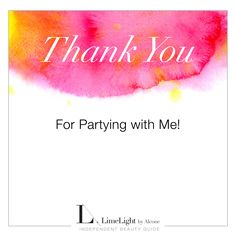 LimeLight By Alcone- Thank you for partying with me!