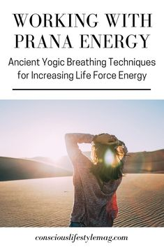 Working with Prana: Prana energy can be cultivated through special pranayama breathing techniques that increase life force in the body and mind. Learn two powerful practices. Breathing Techniques, Meditation Techniques, Pranayama, Yoga Breathing, Spiritual Health, Yoga Teacher Training, Yoga Benefits, Yoga Inspiration, Zen Yoga