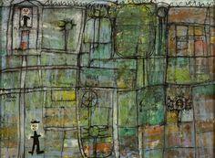 lawrenceleemagnuson:Jean Dubuffet (1901-1985)Pépiniériste (1944)oil on canvas