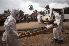 Liberia burns its bodies as Ebola fears run rampant – burial crews in Sierra Leone go on strike | The Extinction Protocol