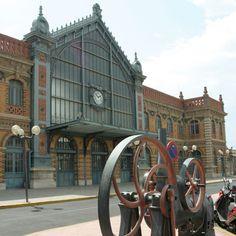Estación de Tren Antigua de Almería by Almería Turística, via Flickr