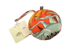 #HERMES Boule de Noel En Soie Charm Silk Multi Color (BF104797): #eLADY global offers free shipping worldwide. For more pre-owned luxury brand items, visit http://global.elady.com