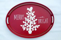 SOLD but can be made to order  Merry & Bright by BelleMaisonMarket