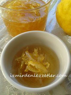 Limon Reçeli | İzmirdenlezzetler Cantaloupe, Jelly, Food And Drink, Fruit, Sauces, Dips, Marmalade, Dipping Sauces, Dip