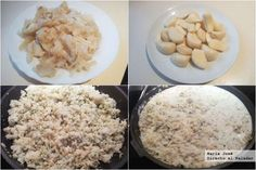 Recipe of my mother& cod croquettes - Croissants, Cod, Oatmeal, Grains, Rice, Favorite Recipes, Breakfast, Beverage, Cod Fish