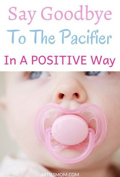 Artie's doctor broke the news at his two year visit… it was time to say goodbye to his pacifier. I listened to the doctor's advice and did my own research and finally came up with a positive way to let the pacifier go. This is how to get rid of the pacifier for good! #pacifier