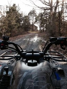 Four wheeler rides through the backwoods is the best