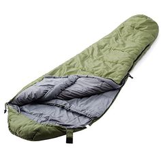 """Camp Solutions +5 F Ultralight Mummy Sleeping Bag (91""""x 32""""x 22"""") - About Camp Solutions Camp Solutions, since its establishment, become one of the leading companies of outdoor products in several years. Camp Solutions constantly improve the appearance, quality and practicality of its products through technical innovation. Camp Solutions, your outdoor expert! Pro..."""