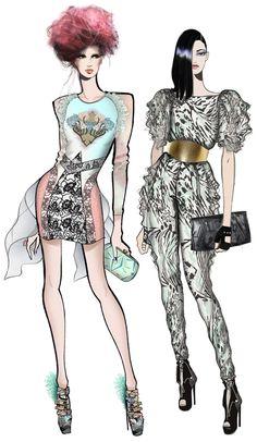 JAA DESIGN original fashion illustrations