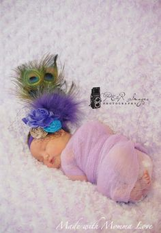 MWML Peacock Feather Fascinator Headband. I can so see this for my lil girl.